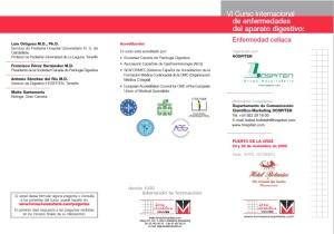 Programa Curso enfermedad celiaca -externo-