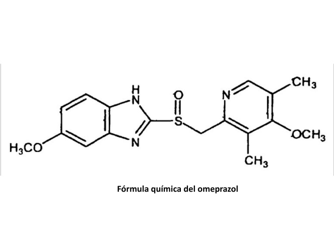 Fórmula omeprazol